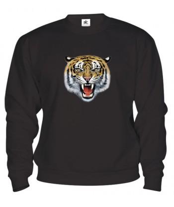 Mikina - Tigria hlava