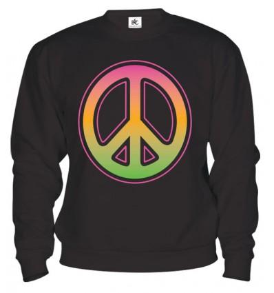 Mikina - Neon Peace