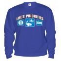 Mikina - Životné priority - Rybárstvo