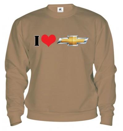Mikina - I Love Chevrolet