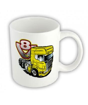 Hrnček - V8-truck
