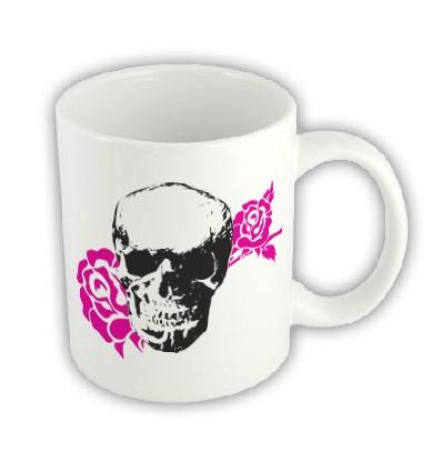 Hrnček - Skull Rose