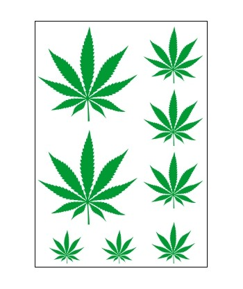 Nažehľovačky Marihuana