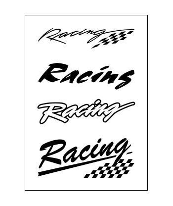 Nažehľovačky Racing
