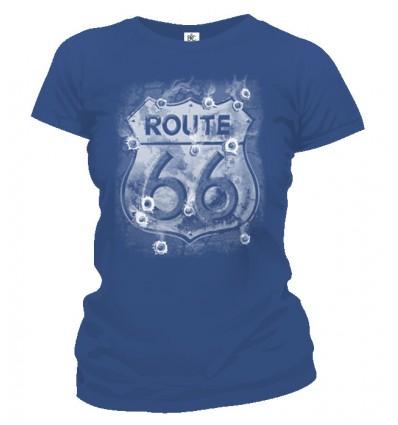Tričko dámske - Route 66