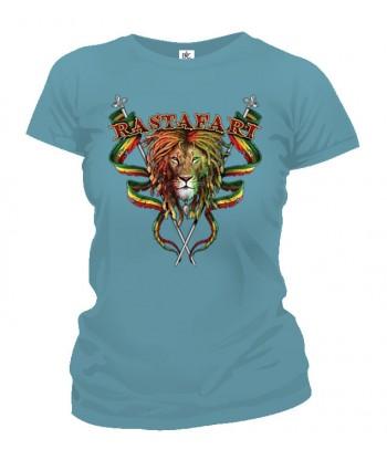 Tričko dámske - Rastafari