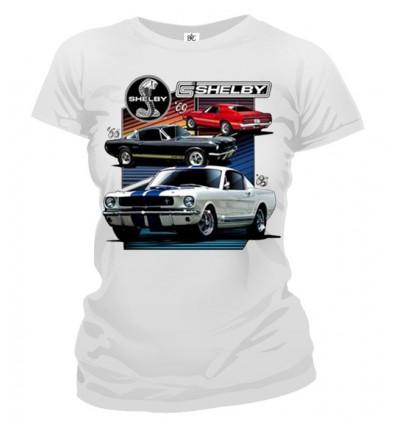 Tričko dámske - Mustang Shelby