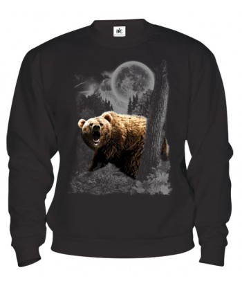Mikina - Medveď v mesačnom svite