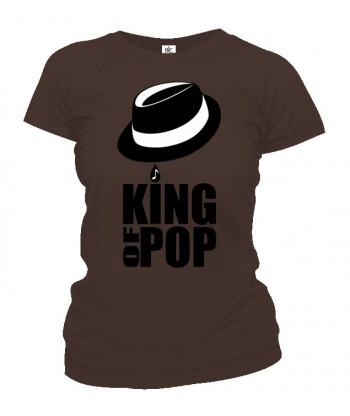 Tričko dámske - King of Pop