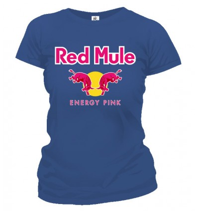 Tričko dámske - Red Mule