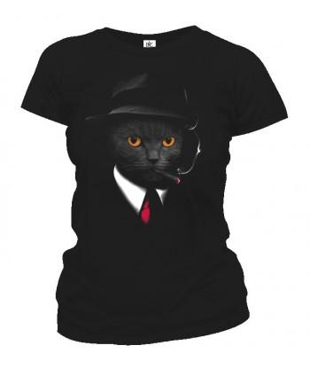 Tričko dámske - Agent kocúr