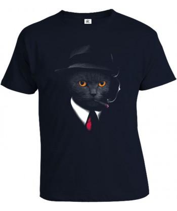 Tričko pánske - Agent kocúr