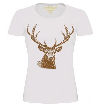 Tričko dámske - Jeleň lesný