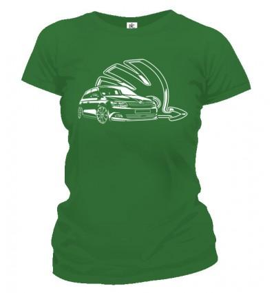 Tričko dámske - Škoda Fabia