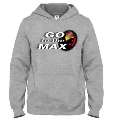 Mikina s kapucňou Go To The Max
