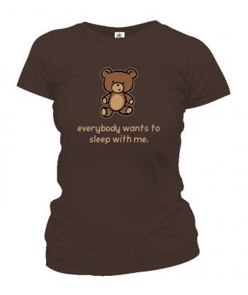 Tričko dámske - Sleep With Me