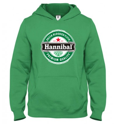 Mikina s kapucňou Hannibal