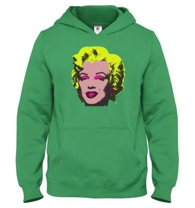 Mikina s kapucňou Marilyn Monroe