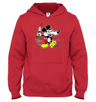 Mikina s kapucňou Mickey Rat