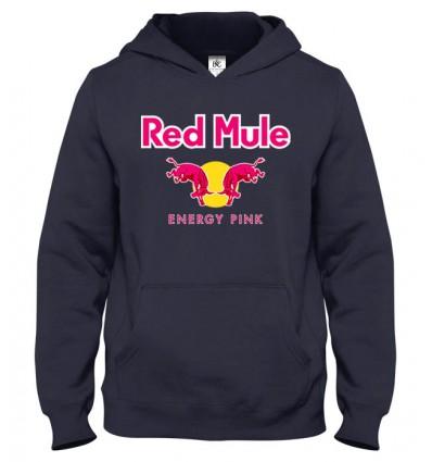 Mikina s kapucňou Red Mule