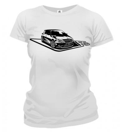 Tričko dámske - Škoda Fabia RS