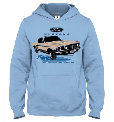 Mikina s kapucňou Ford Mustang
