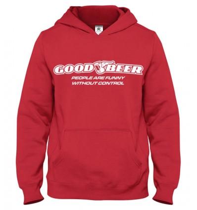 Mikina s kapucňou Dobré pivo
