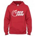 Mikina s kapucňou Red Zone