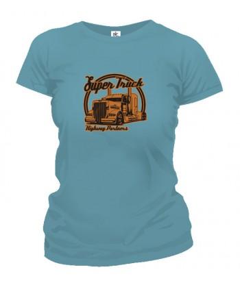 Tričko dámske - Super Truck