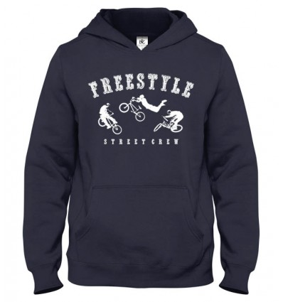 Mikina s kapucňou Freestyle BMX