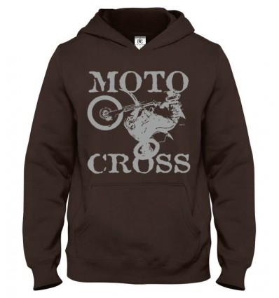 Mikina s kapucňou MotoCross