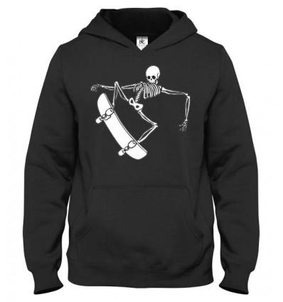 Mikina s kapucňou Skater Skull 2