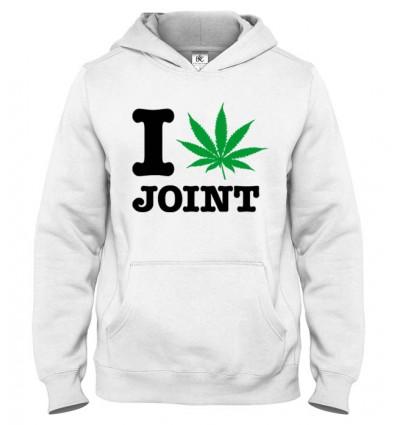 Mikina s kapucňou I Love Joint