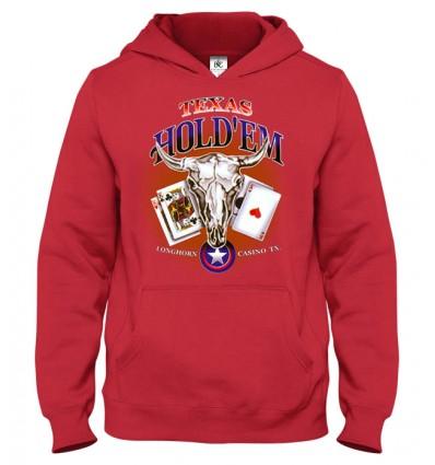 Mikina s kapucňou Poker