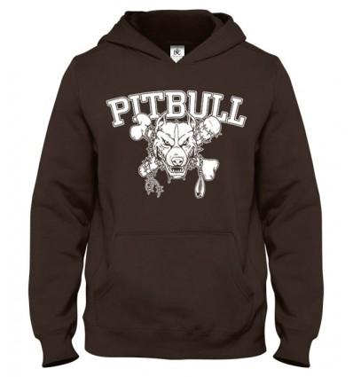 Mikina s kapucňou PitBull 3