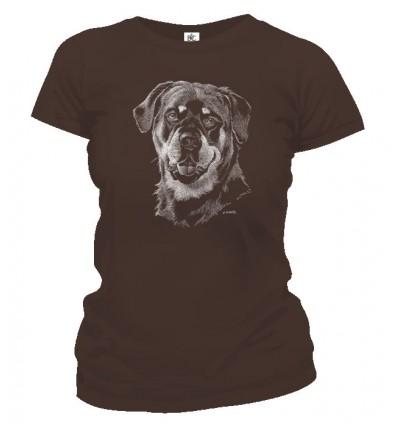 Tričko dámske - Rottweiler 2
