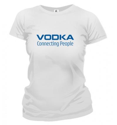 Tričko dámske - Vodka