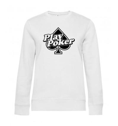 Dámska mikina - Play Poker