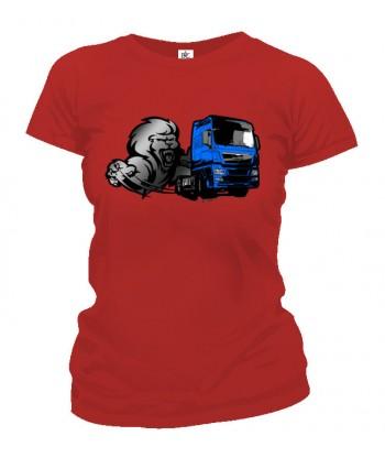 Tričko dámske - Lion truck