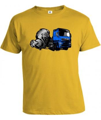 Tričko pánske - Lion truck