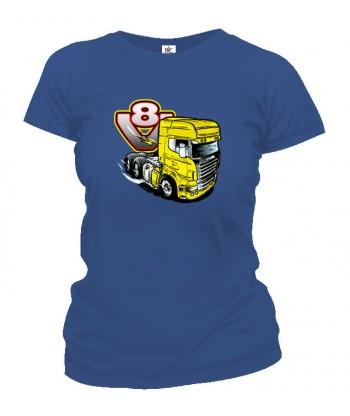 Tričko dámske - V8-truck